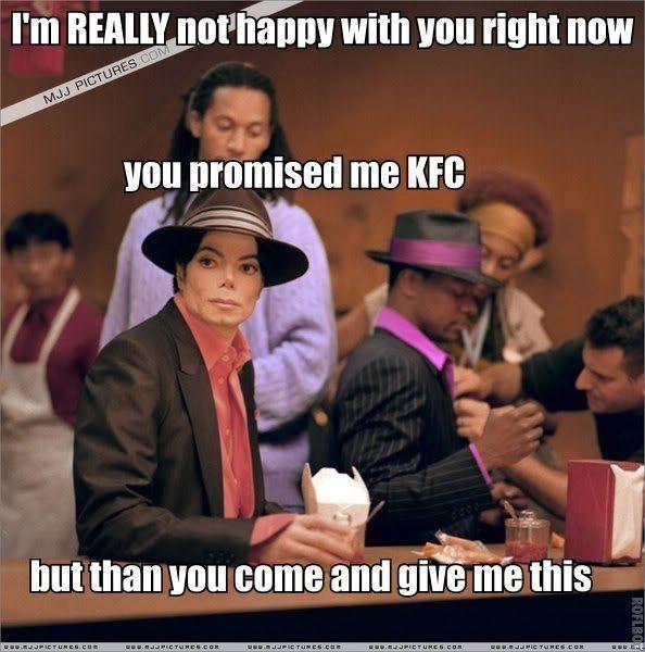 Funny Michael Jackson Kfc Michael Jackson Quotes Michael Jackson Funny Michael Jackson