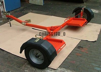 towing dolly collapsible fits in car boot plansto build your own rh pinterest com