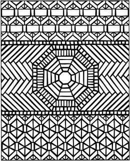 geometric coloring pages that be printed   Geometric Design Colouring Pictures Stained Glass ...