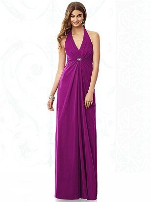 After ; Six Bridesmaid Dress 6692: The Dessy Group Color: Persian Plum