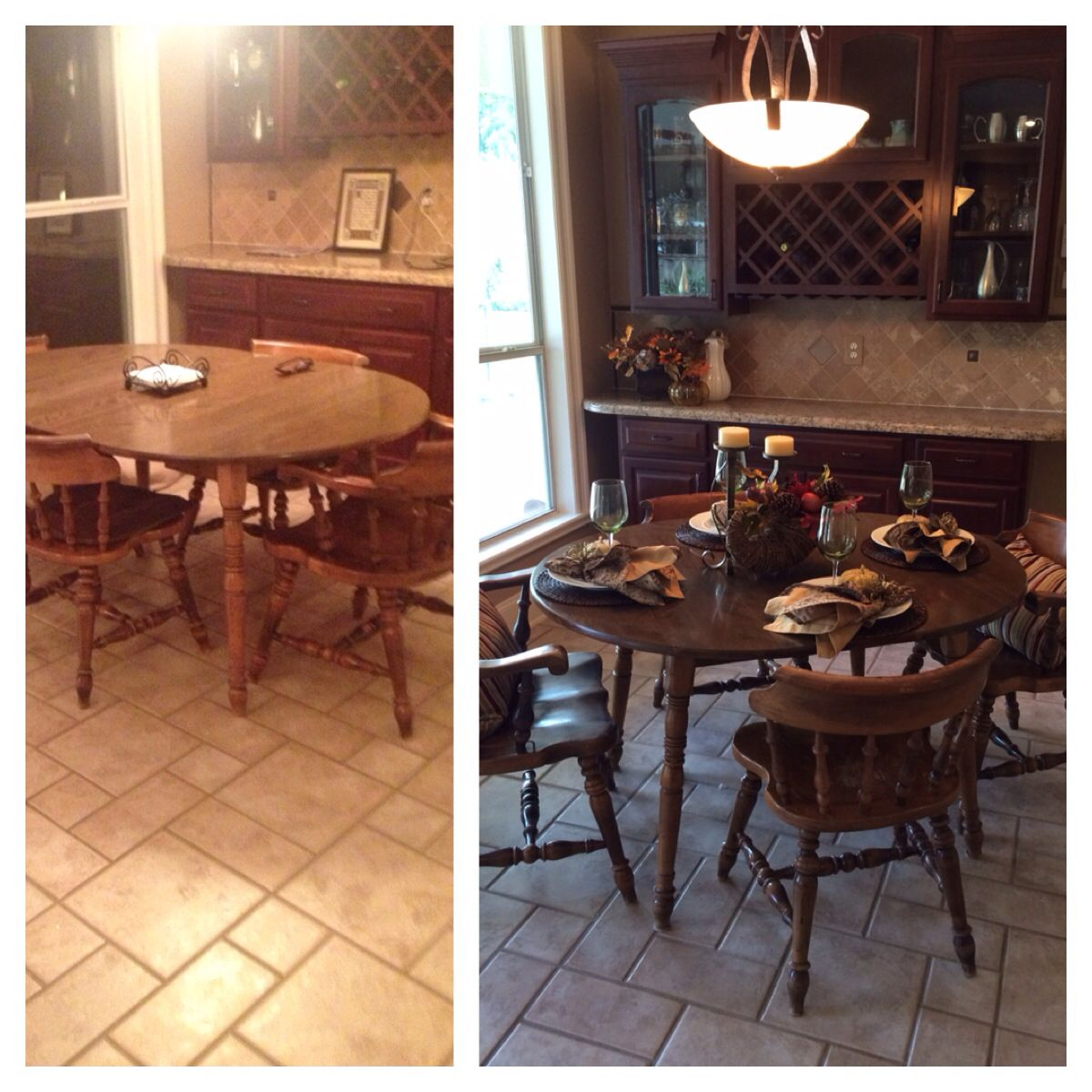 Kitchen Staging Before And After: Before/ After Home Staging