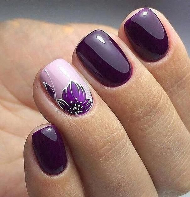 VARNISH COLORS FOR SPRING 2019 in 2020 | Purple nail art ...