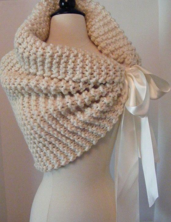 Hand Knit Shawl Wedding Shawl 9800 Crochet Sewing