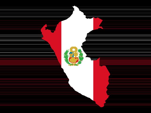 Flag Map Of Peru Free Vector Maps Flag Art Map Vector Flag
