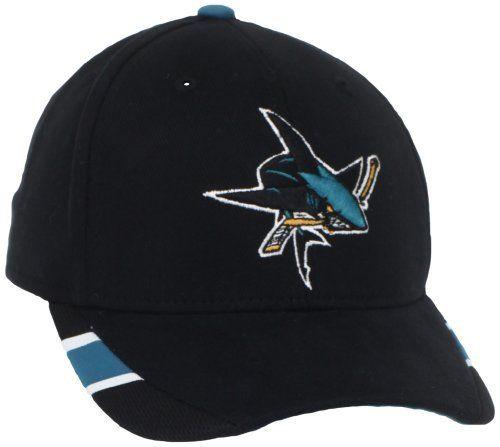 NHL San Jose Sharks Youth Structured Adjustable Hat beb79a6558f5