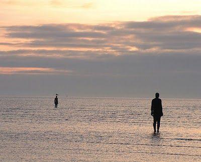 POUL WEBB ART BLOG: Antony Gormley 'Another Place'