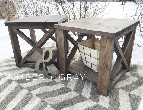 Phenomenal Rustic Endtable Ana White Diy End Table Farmhouse Home Interior And Landscaping Dextoversignezvosmurscom