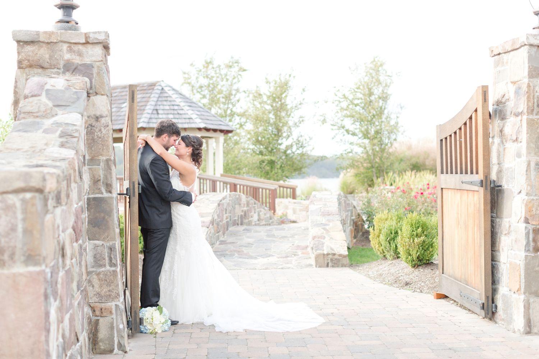 North beach plantation weddings  Chris u Scott Herrington on the Bay in North Beach MD  Wedding