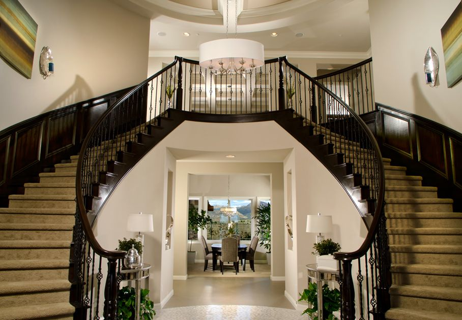 Best 20 Stunning Home Foyer Designs Double Staircase Foyer 400 x 300