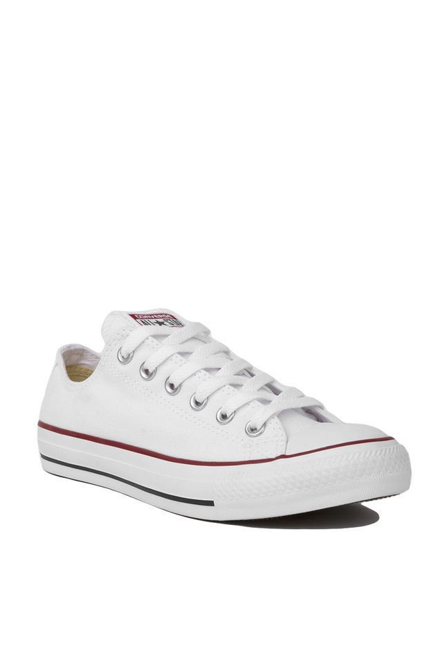 552a3dabc16338 Converse Chuck Taylor All Star Classic Low Top Oxford Sneakers in Optic  White