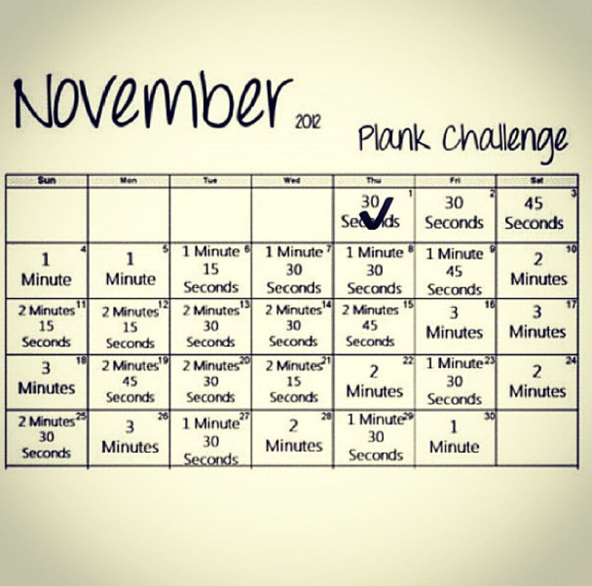 Gym Quote I Will Always Rise Back Up And I Ll Be: November Plank Challenge!! Print It Out And Put It In Your