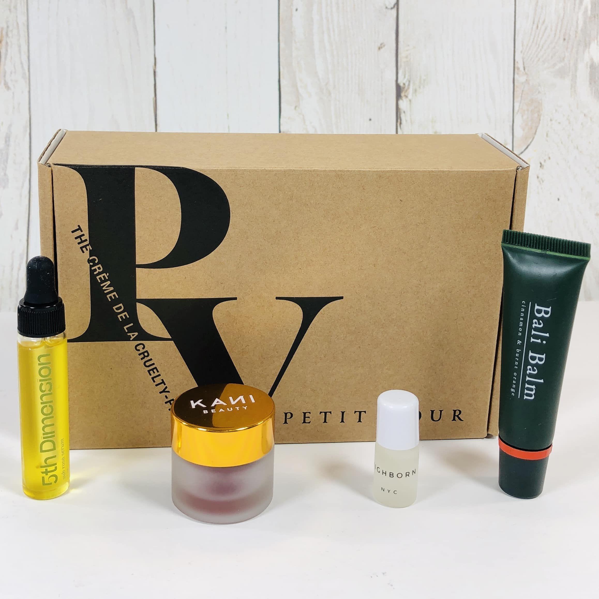 Petit Vour Beauty box subscriptions, The balm