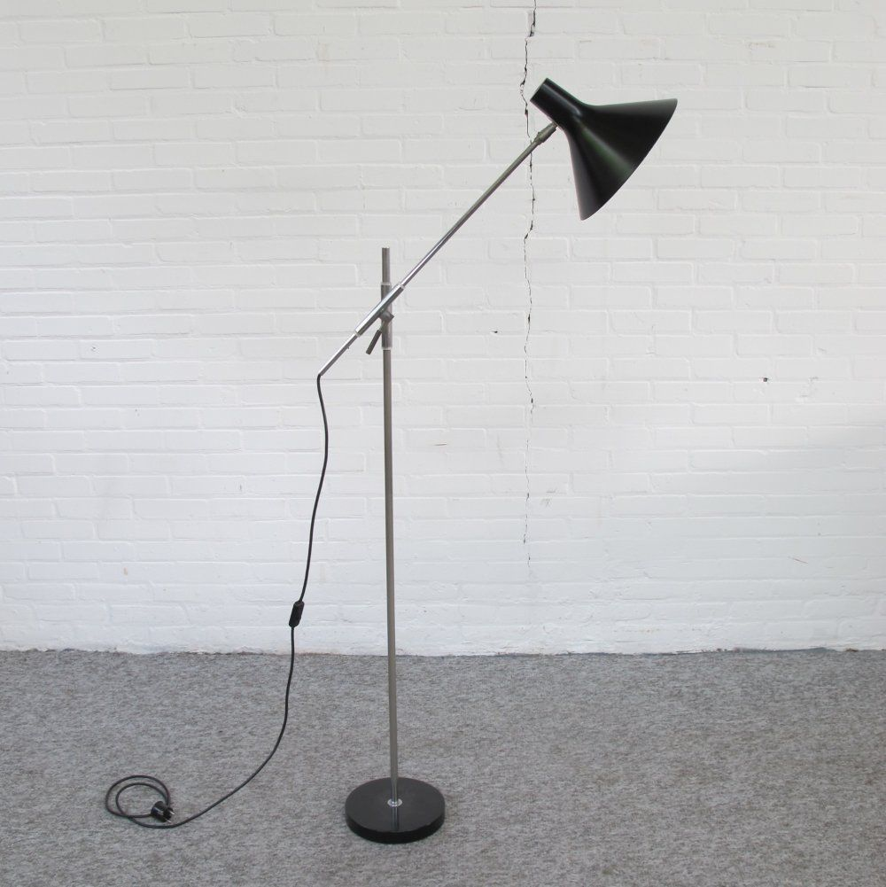 For sale Vintage Mid Century Italian adjustable floorlamp