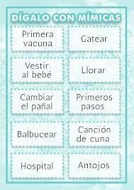Resultado De Imagen Para Juegos Para Baby Shower Mixto Baby Shower
