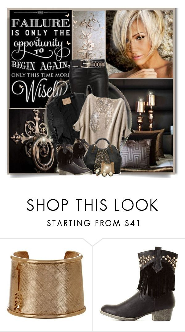"""""""Love that shirt and scarf"""" by wendyfer ❤ liked on Polyvore featuring Missoni, House of Harlow 1960 and Charlotte Russe"""