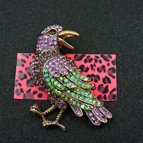 Pin By Crystal Johnson On Baldwin Hills Dam Break: Details About New Cute Purple Women Crystal Bird Betsey