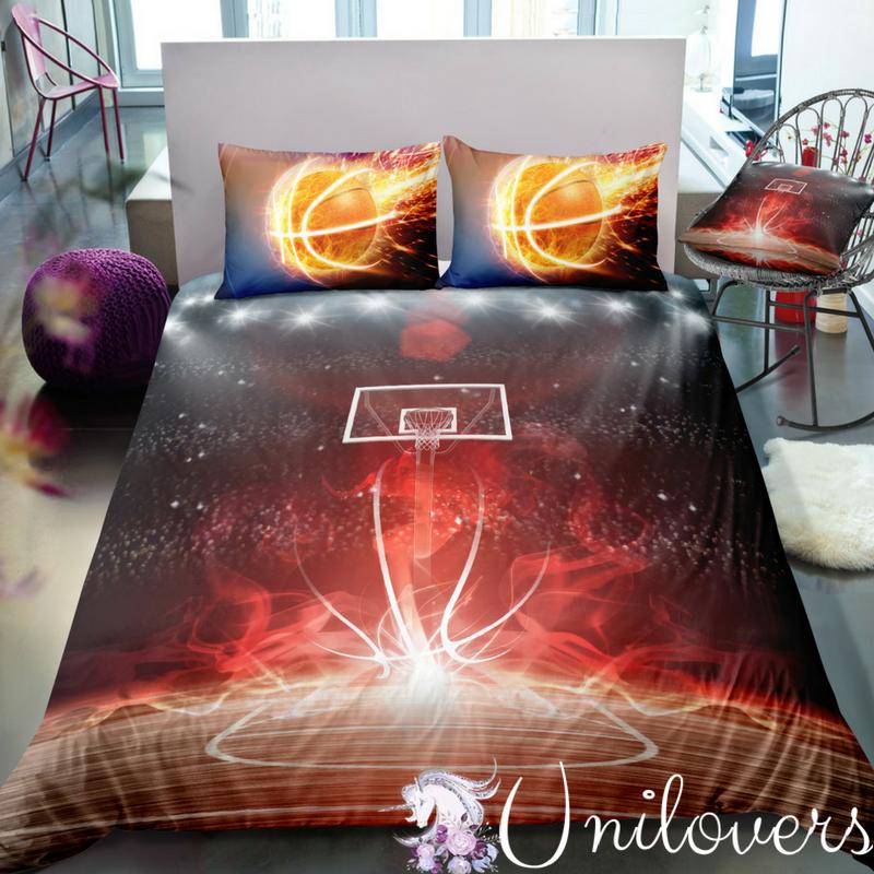 3d Customize Basketball Bedding Set Duvet Cover Set Bedroom Set