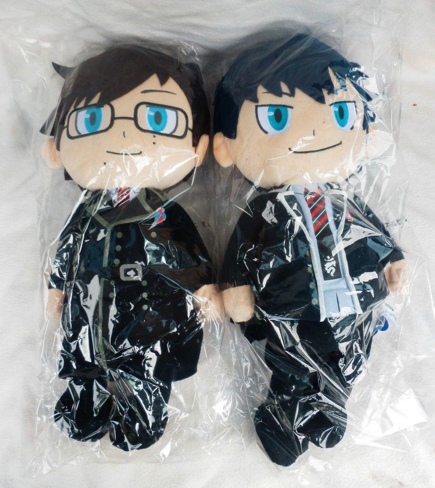 Blue exorcist rin yukio okumura set plush stuffed doll