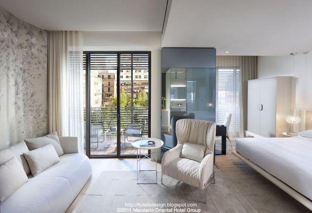 Mandarin oriental barcelona les plus beaux hotels design - Barcelone hotel piscine interieure ...
