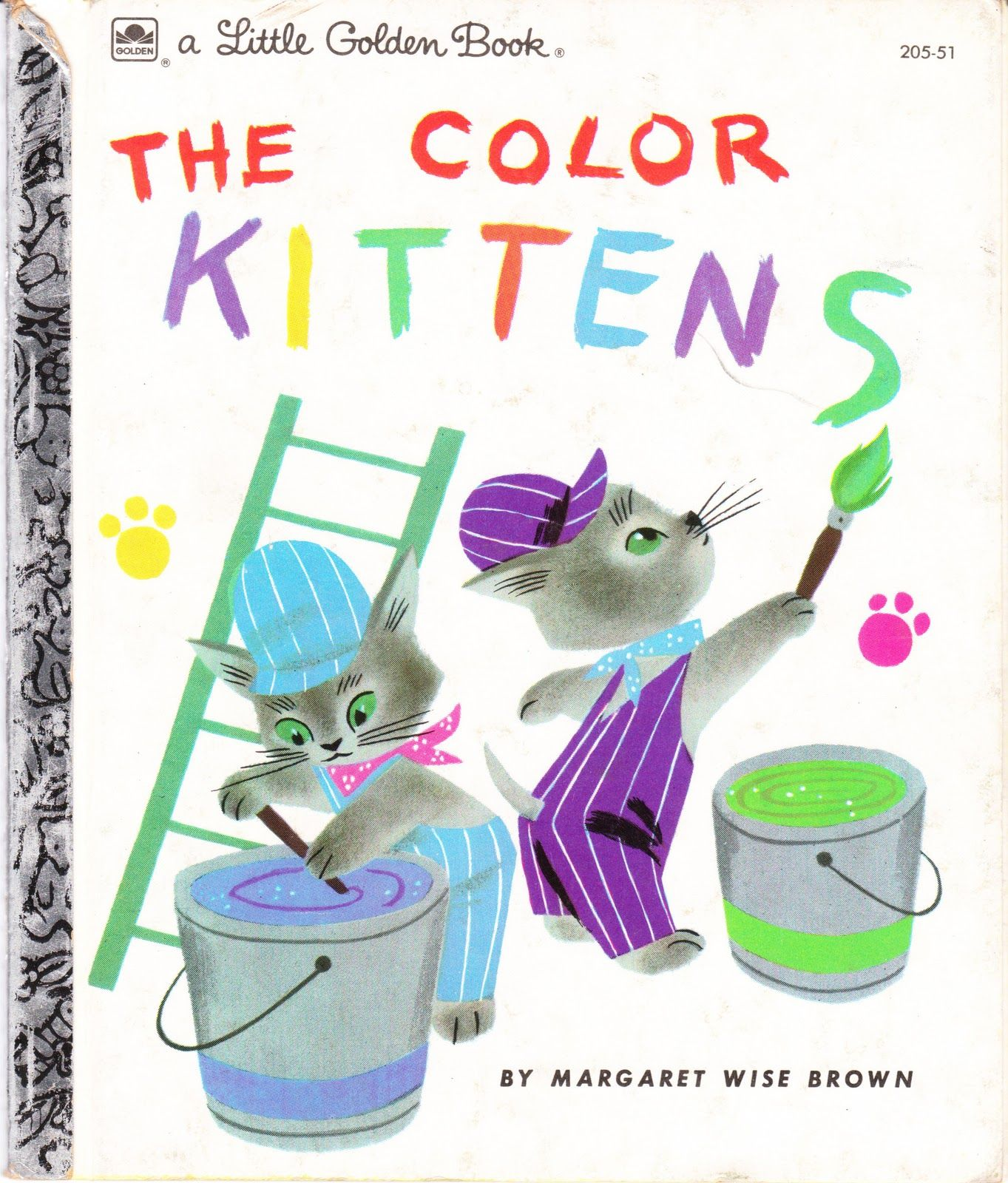 The Color Kittens Written By Margaret Wise Brown Margaret Wise Brown Little Golden Books Books
