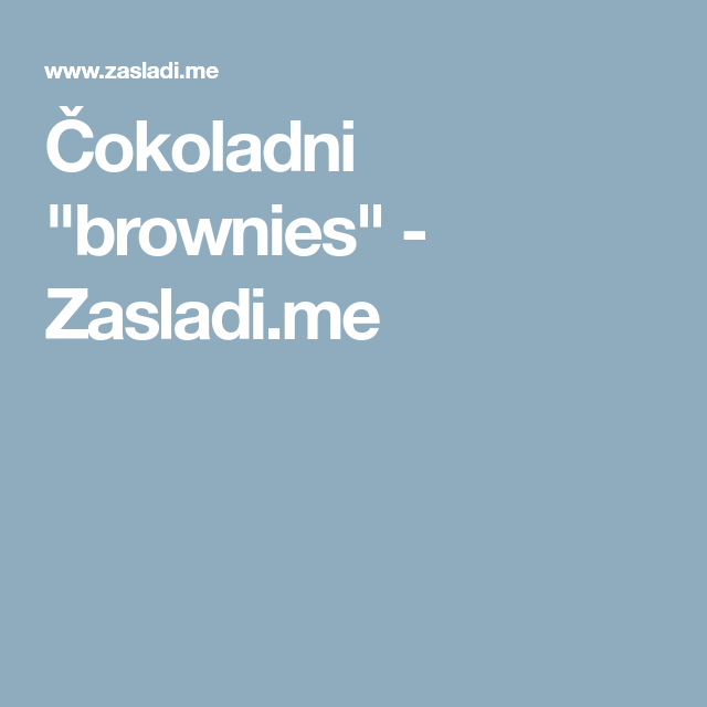 Orion Telekom Hosting Hosting Domeni Serveri Recipe Brownies Recipes Torte