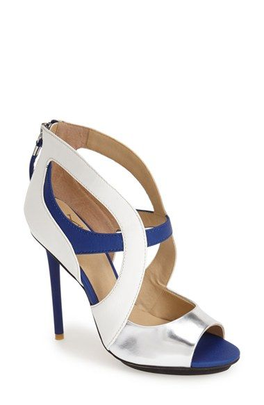 1b136fc6cc8 gx by GWEN STEFANI  Dart  Colorblock Cutout Sandal (Women) available at   Nordstrom