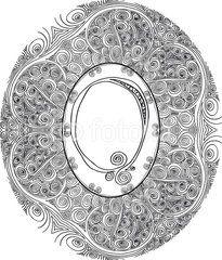 Vector: Hand draw font. Letter Q. Vector illustration