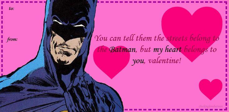 Batman Valentines