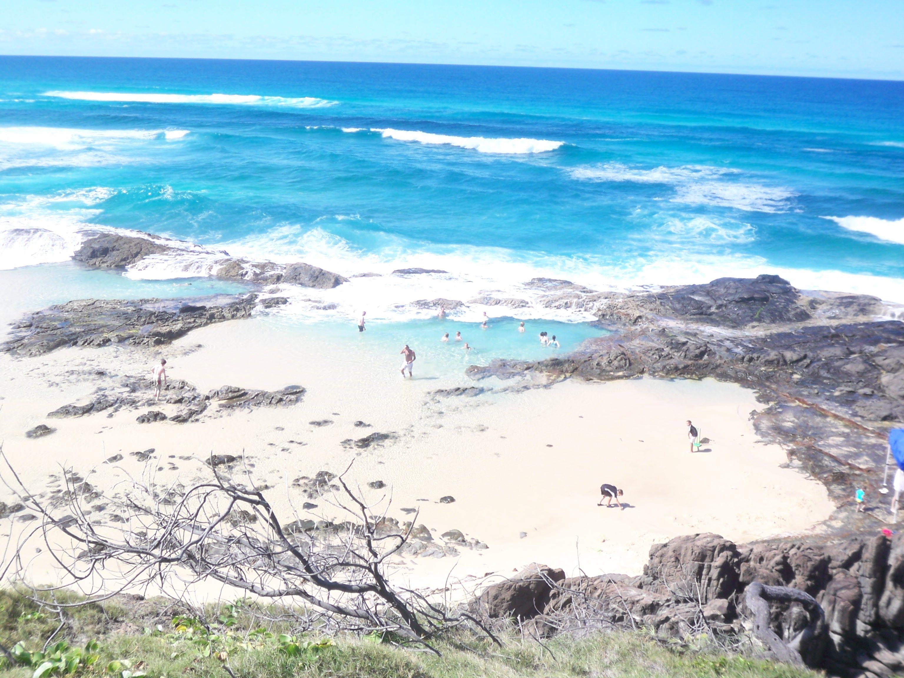 Fraser Island // Australien - Champagner Pool