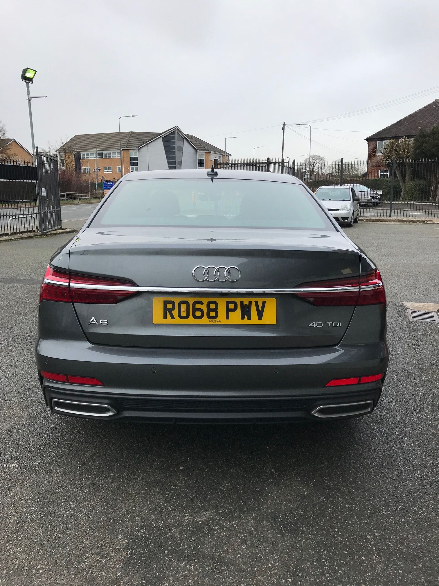 The Audi A6 DIESEL SALOON 40 TDI S Line 4dr S Tronic [Tech