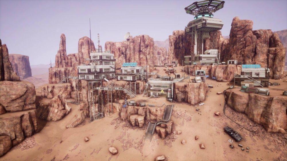 mars mining operations