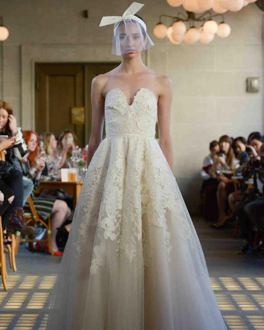 Lela Rose Fall 2017 Wedding Dress Collection   Martha Stewart Weddings – Strapless ball gown wedding dress