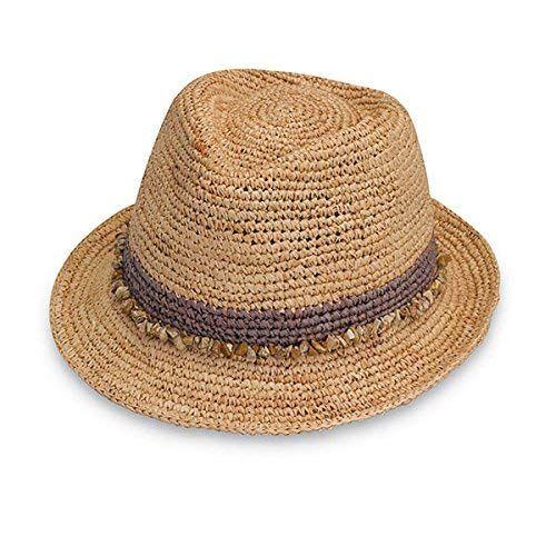c30bfe94e53 Wallaroo Hat Company Women s Tahiti Sun Hat - Fedora-Style Sun Hat Review