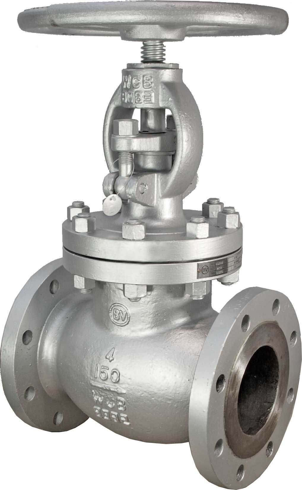 Globe Valve Body A216 Wcb Bonnet A216 Wcb Trim 13 Cr Hand Wheel Operated Pressure Rating Class 150 Class 300 Forged Steel Valve Cast Steel