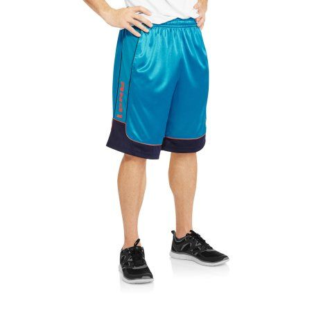 AND1 Big Men's All Courts Basketball Shorts, Size: 2XL, Blue