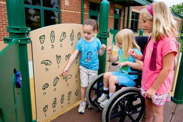 7 Principles of Inclusive Playground Design by Play & Park Structures
