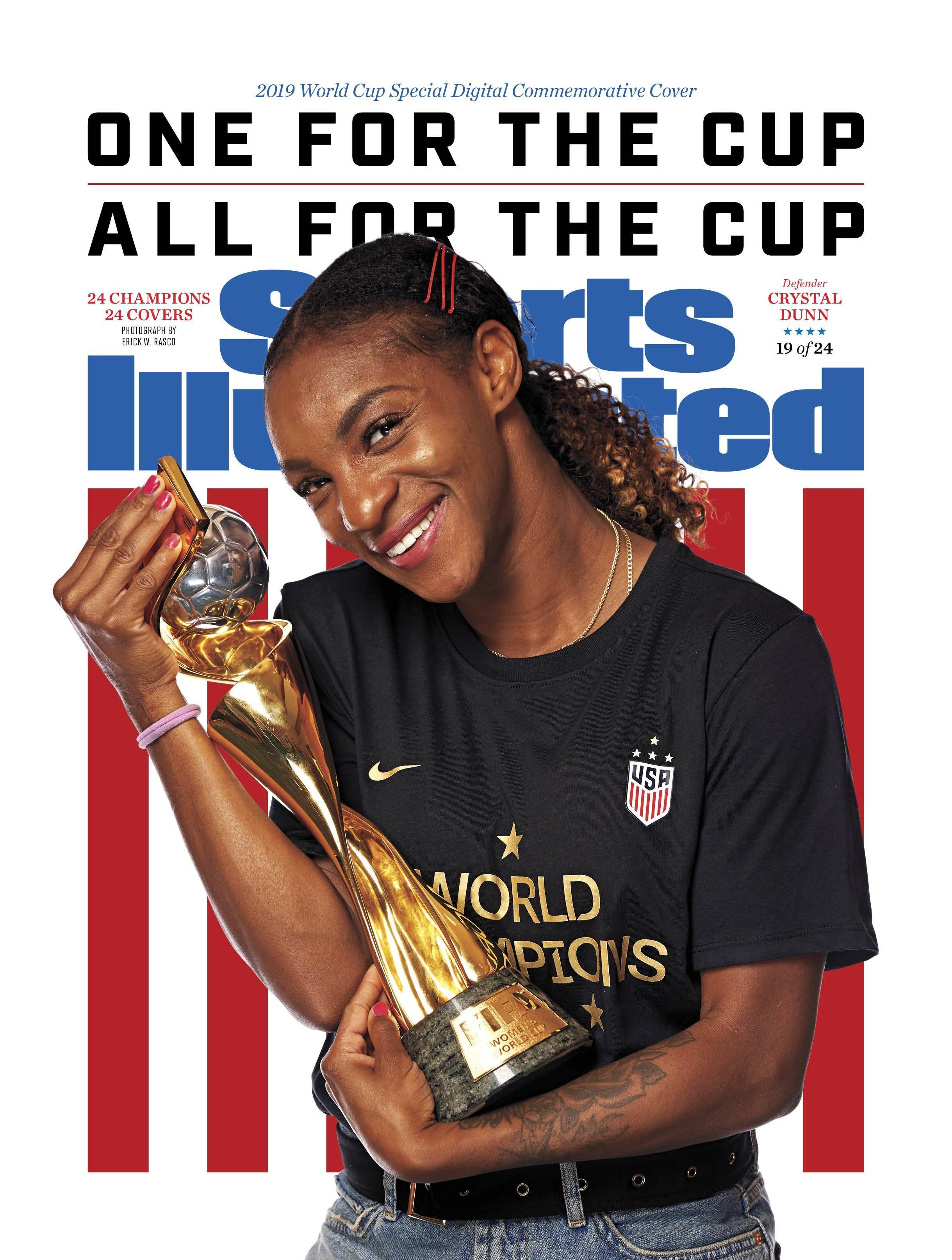 Crystal Dunn 19, Sports Illustrated Commemorative Digital