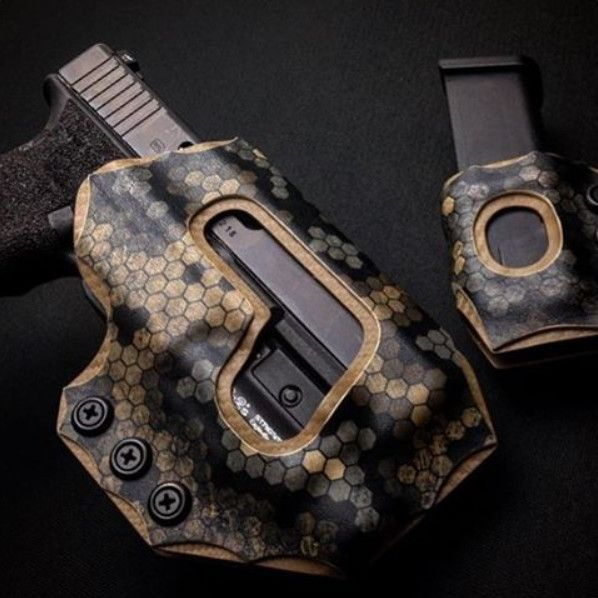 Reign Tactical Custom Kydex Holsters (and Sheaths obviously) make
