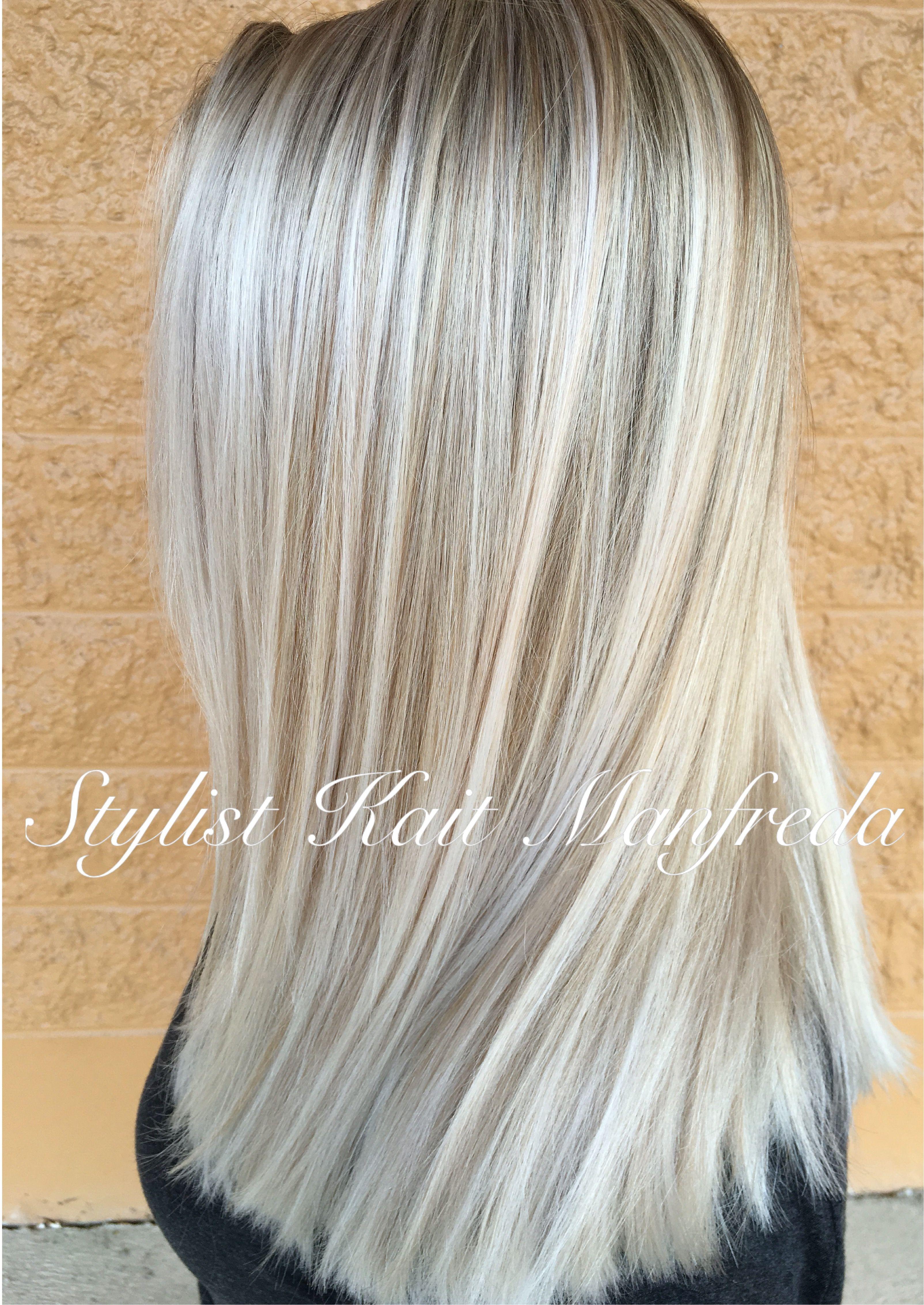 Blonde Highlights Platinum Hair Pinterest Hair Hair Styles