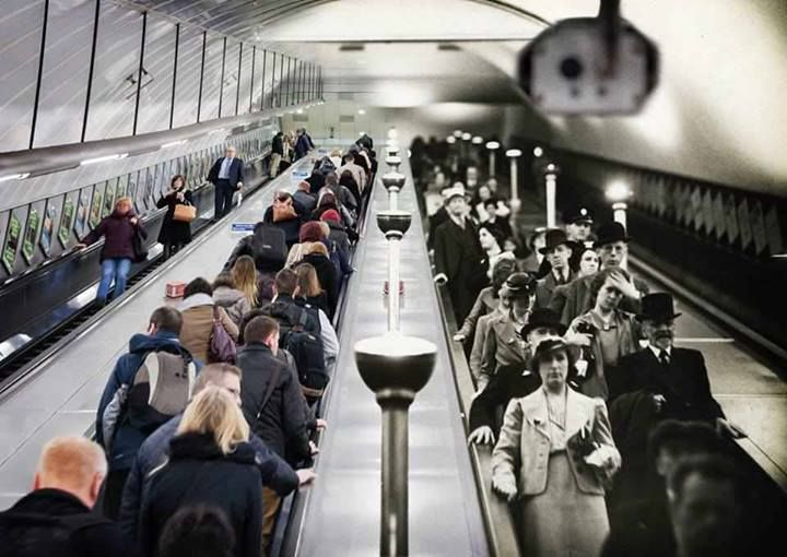London Underground then and now