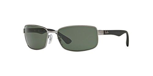 b57cf9cb8c28 Ray-Ban Unisex RB3478 Gunmetal Crystal Green Polarized One Size  Shop   RayBan  RB3478