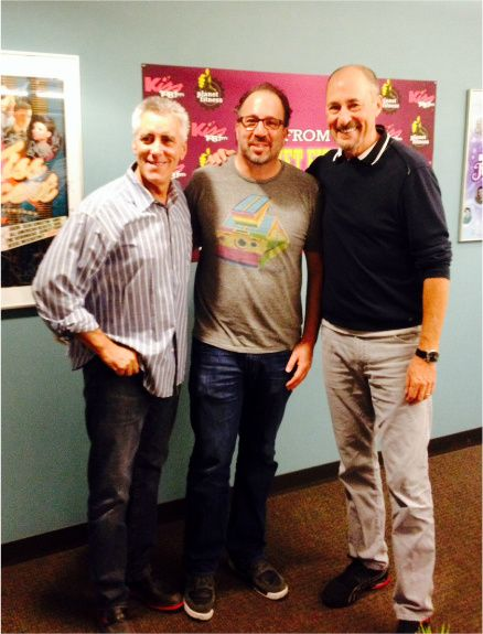 Michael With Matty And Billy From Kiss 108 Top Chef Boston