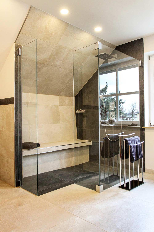 Heimwohl Badezimmer Sitzbank Bad Gemauerte Dusche Badezimmer