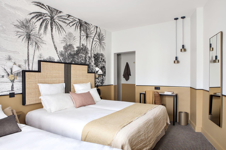 HÔTEL DOISY  Interiores de hoteles, Diseño de habitación de hotel