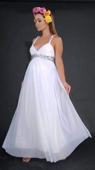 Grandiosos vestidos de novias   Moda para embarazadas   something of ...