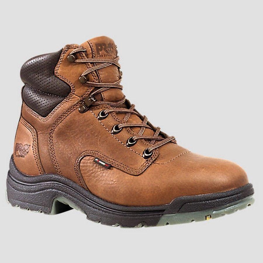 "Womens Timberland Pro Titan 6"" Soft Toe Safety Work Boot"