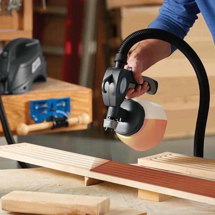 Rockler Hvlp Finishing Sprayer Woodworking Woodworking