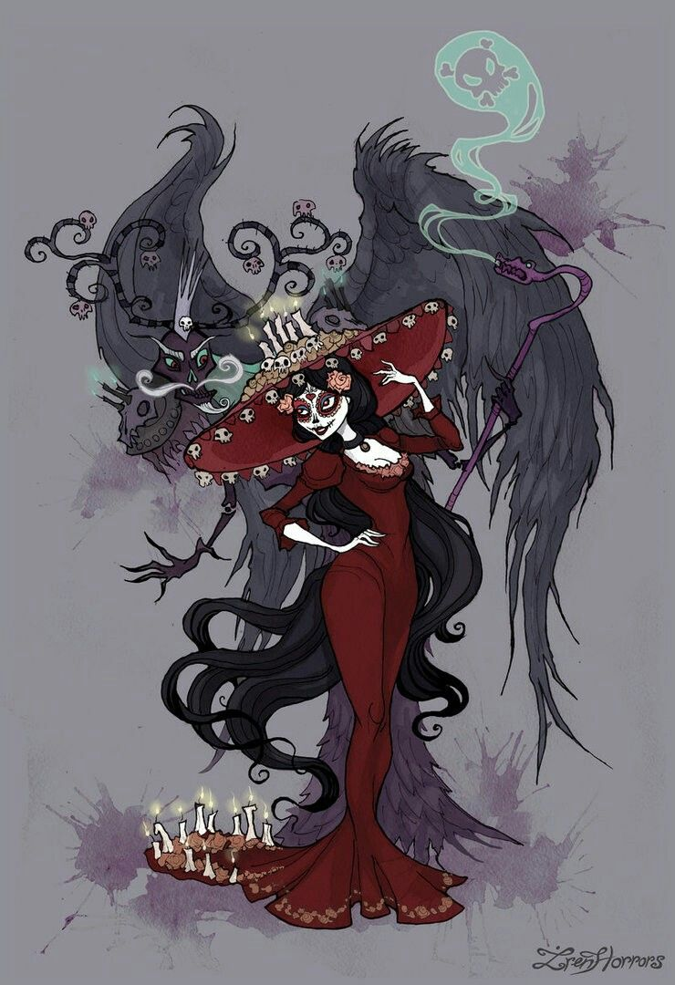 La Muerte And Xibalba From The Book Of Life
