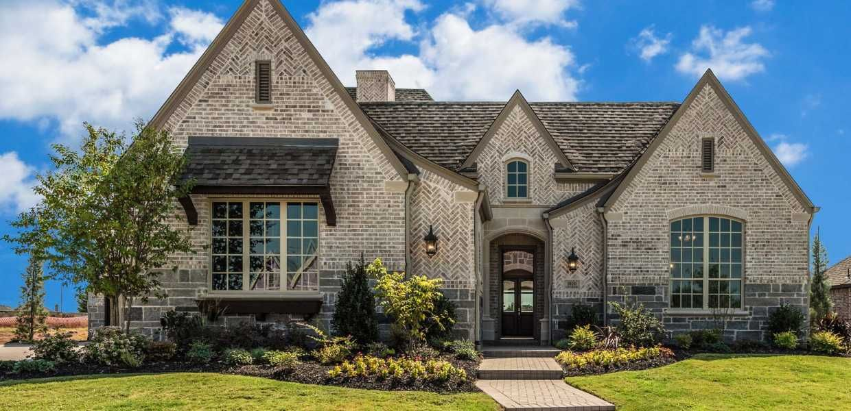 Find new homes in whitley place prosper texas 75078