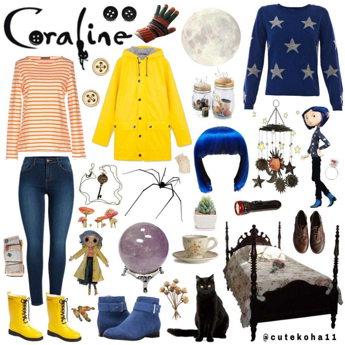 Coraline Aesthetic Coraline Aesthetic Coraline Halloween Costume Coraline Costume